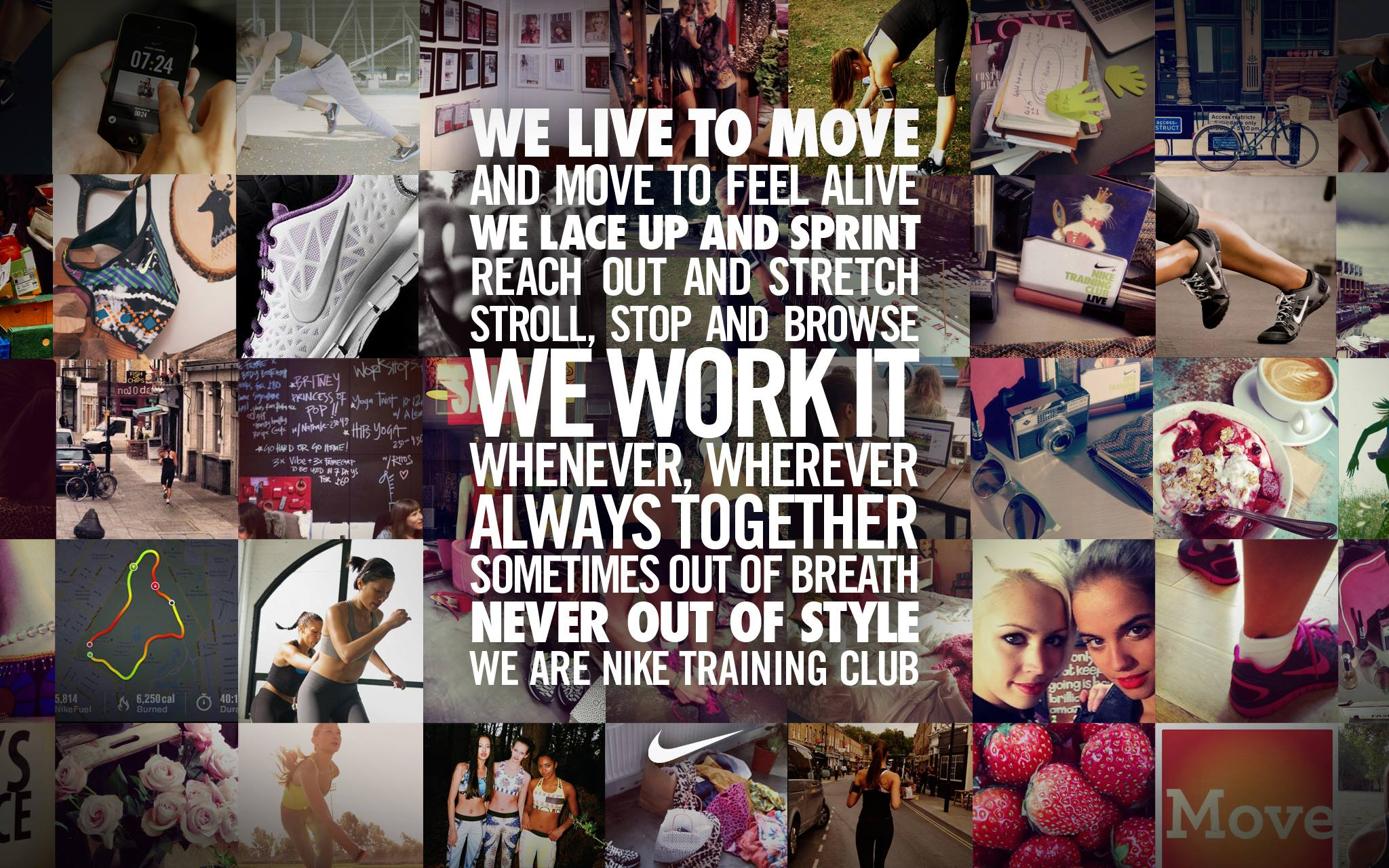 Nike Training Club Manifesto