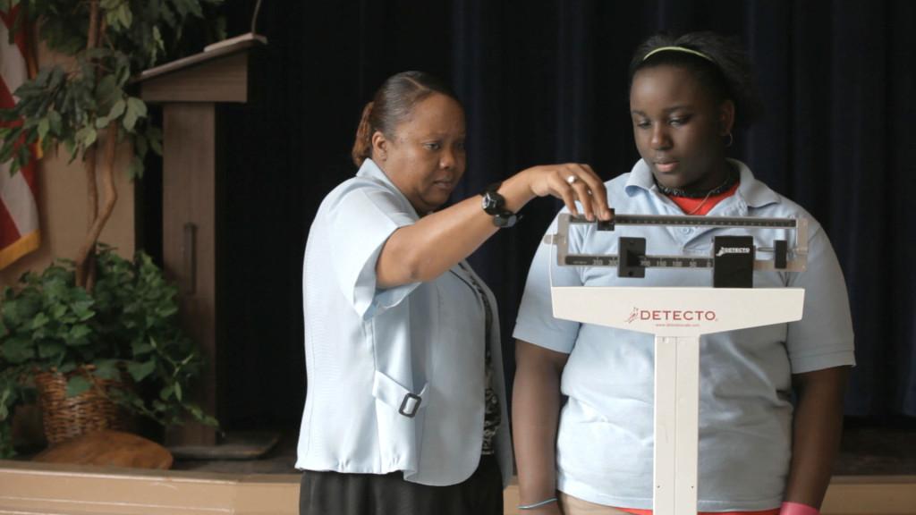 Miss Ross weighs KeAnna Pollard