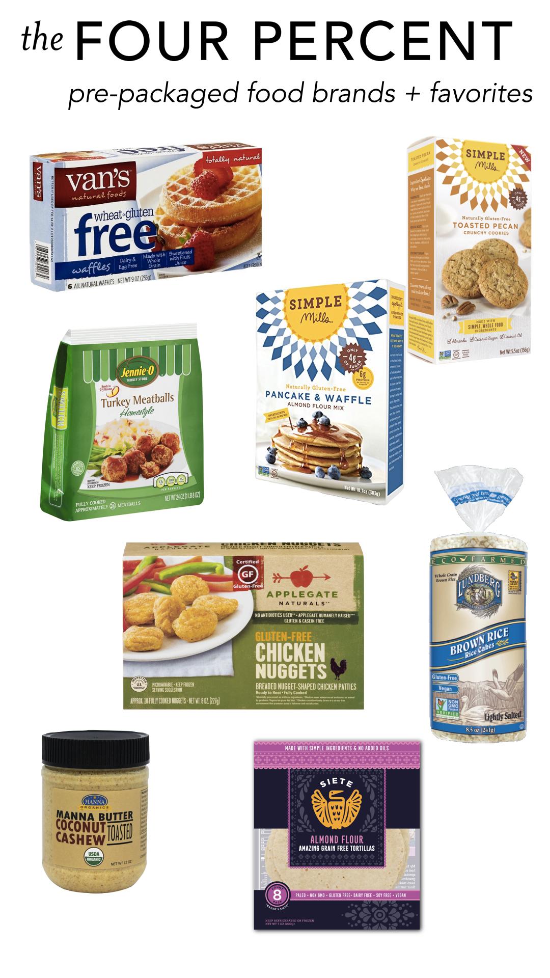healthy pre-packaged food