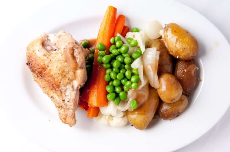 baked chicken prep