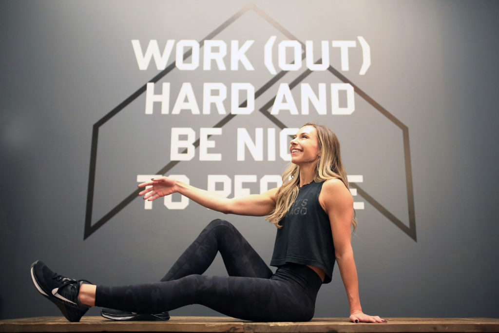 Kate Lemere - Work (Out) Hard and Be Nice to People